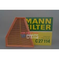 에어크리너(MANN C27114) BMW / 13717542294